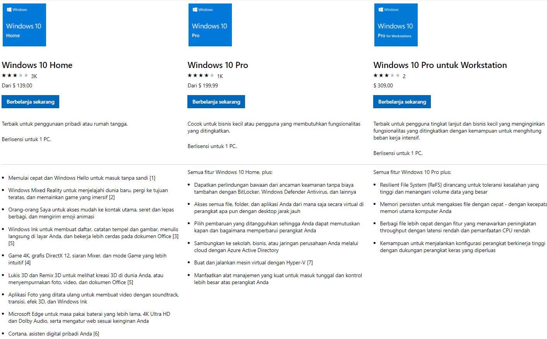 harga lisensi windows 10 - Cara Menghilangkan Activate Windows 10