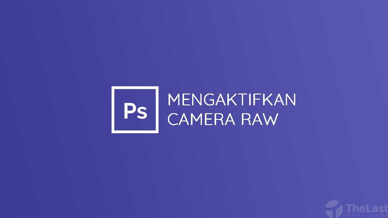 cara mengaktifkan camera raw