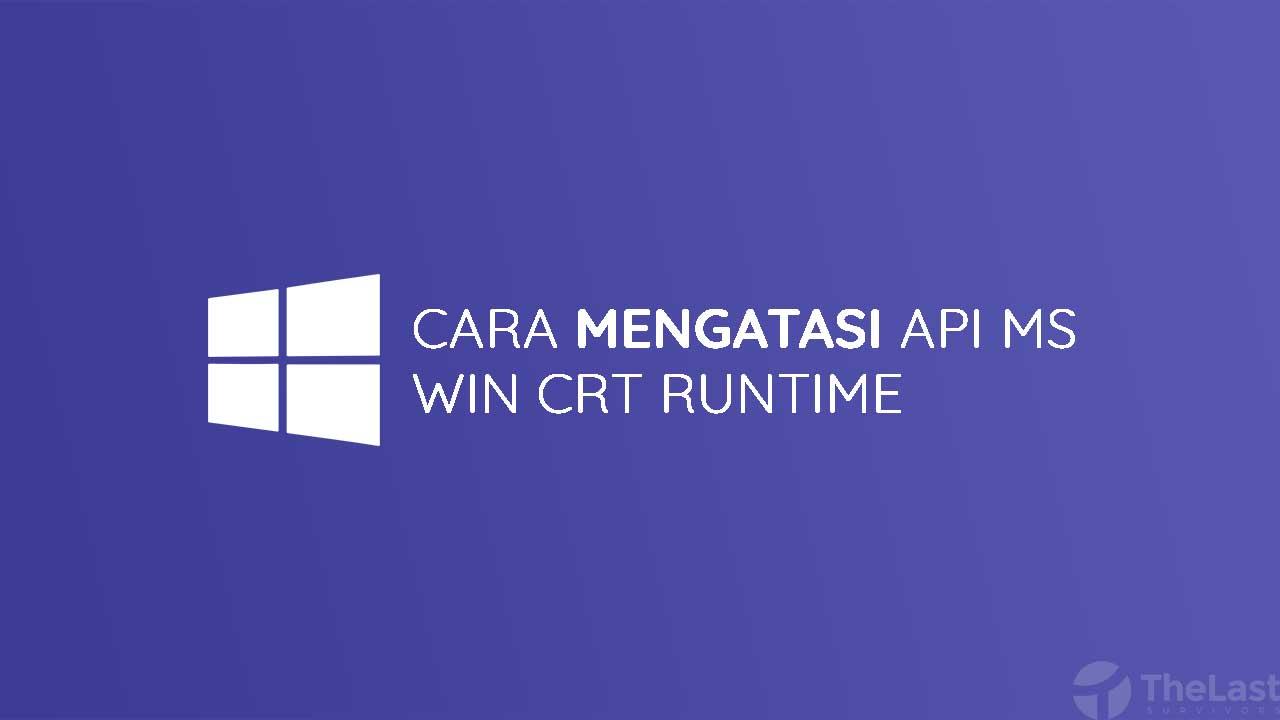 Api Ms Win Crt Runtime L1 1 0