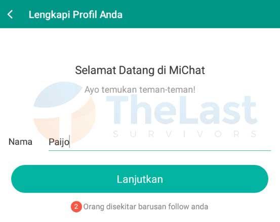 Nama Akun Michat - Cara Menggunakan Michat