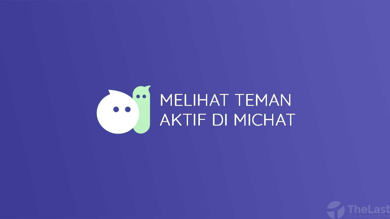 Cara Melihat Teman Aktif Di Michat