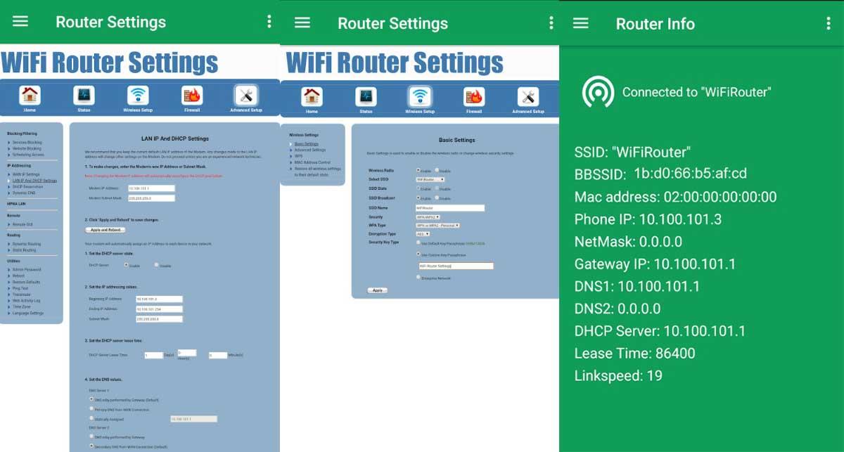 Wifi Router Settings - Cara Melihat Password Wifi Di Android