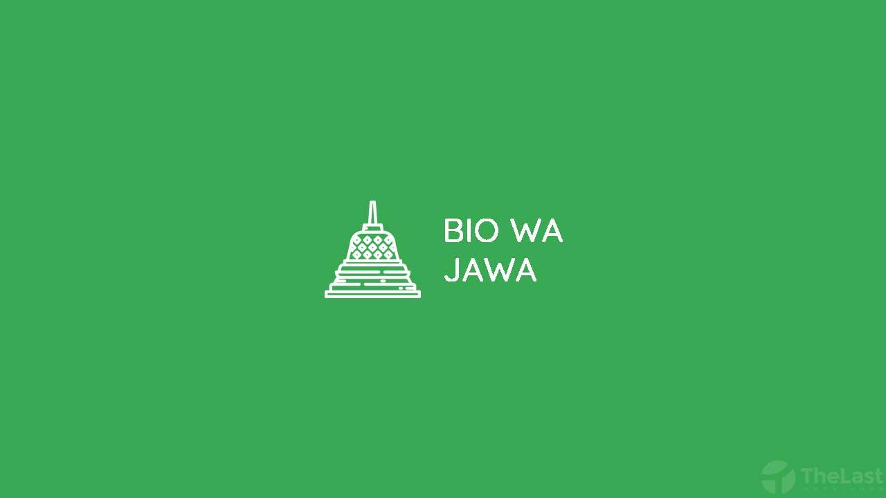 Bio Wa Bahasa Jawa