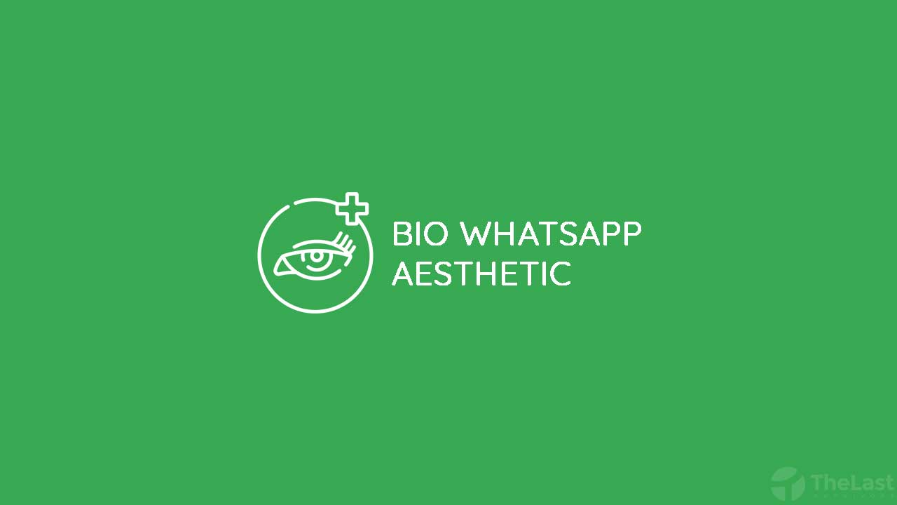 BIO Whatsapp Aesthetic
