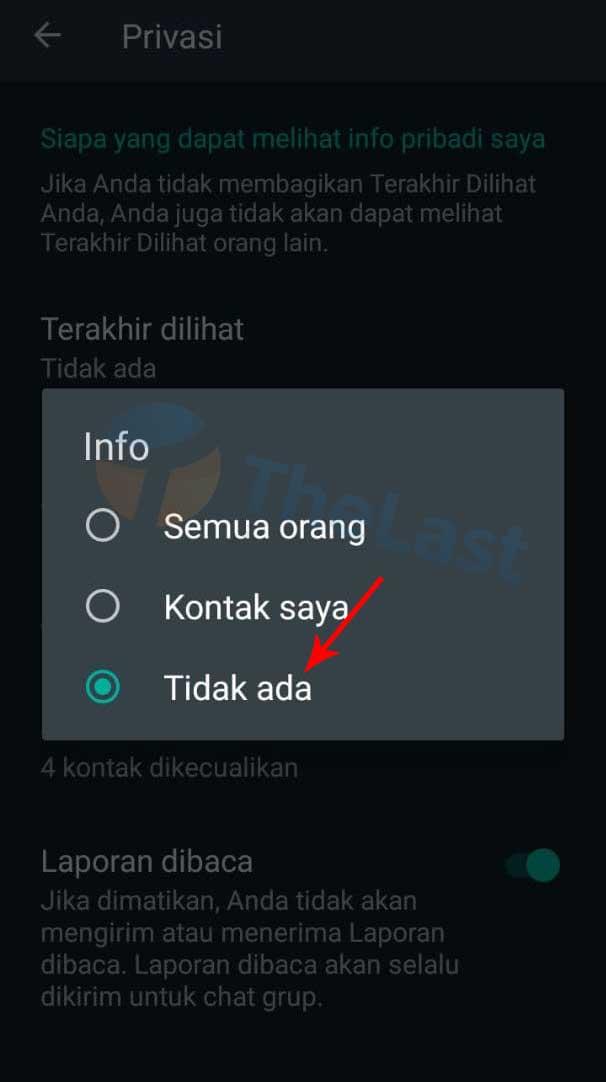 Info Tidak Ada