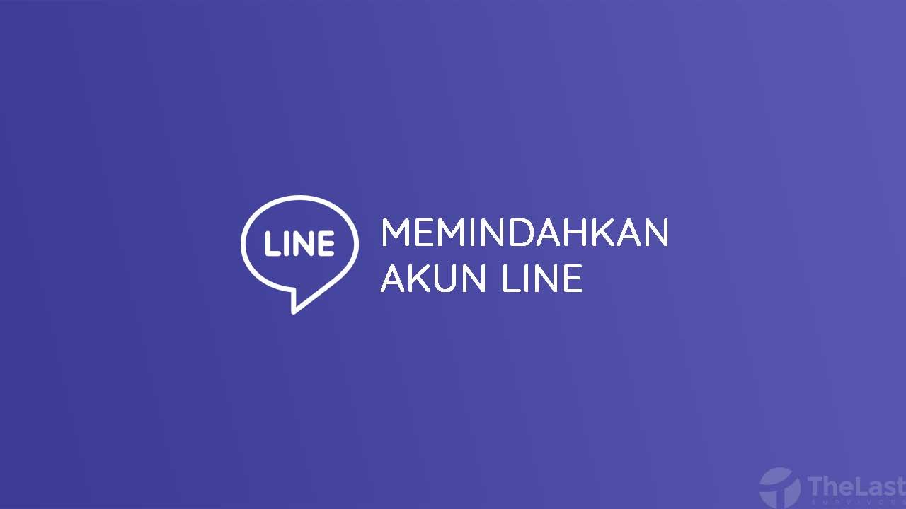 Cara Memindahkan Akun Line