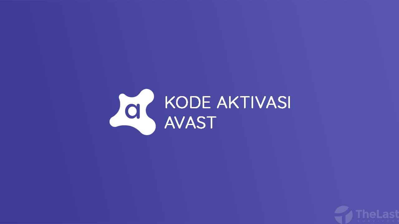 Kumpulan Kode Aktivasi Avast Free Antivirus
