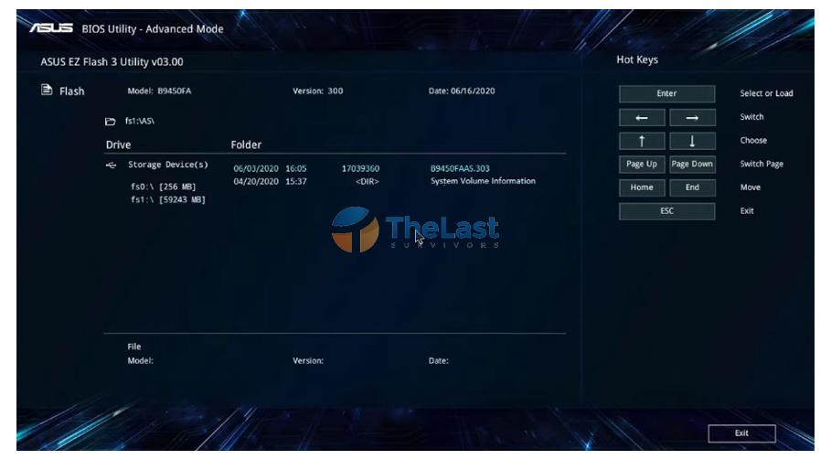 Cara Update Bios Lewat Flashdisk