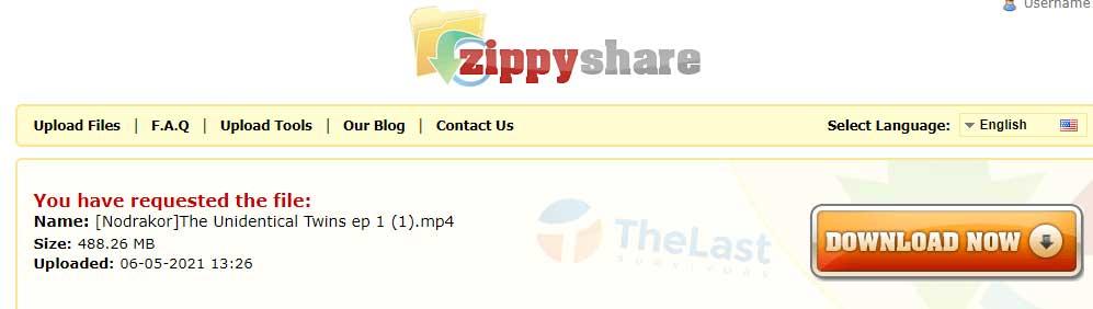 download di server ZippyShare