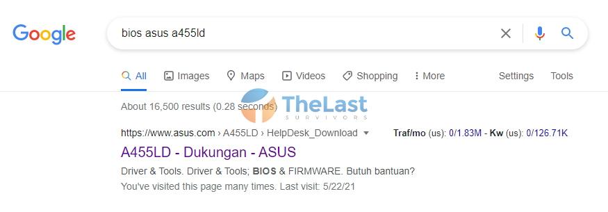 Download Update Bios Terbaru