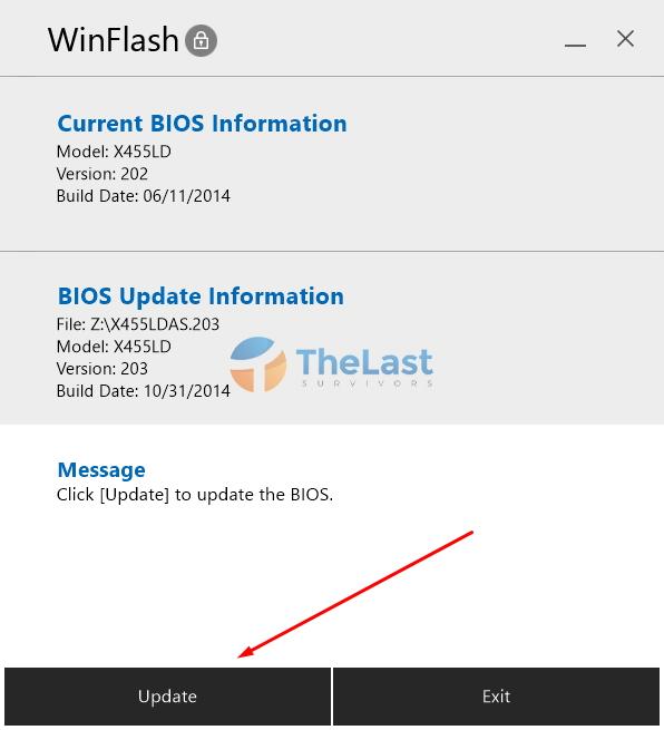 Update Bios Dari Winflash