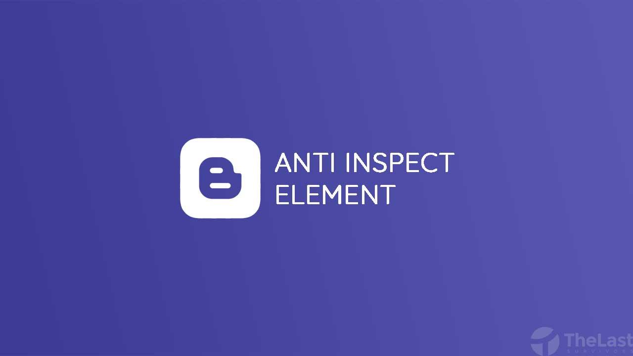 Cara Memasang Anti Inspect Element