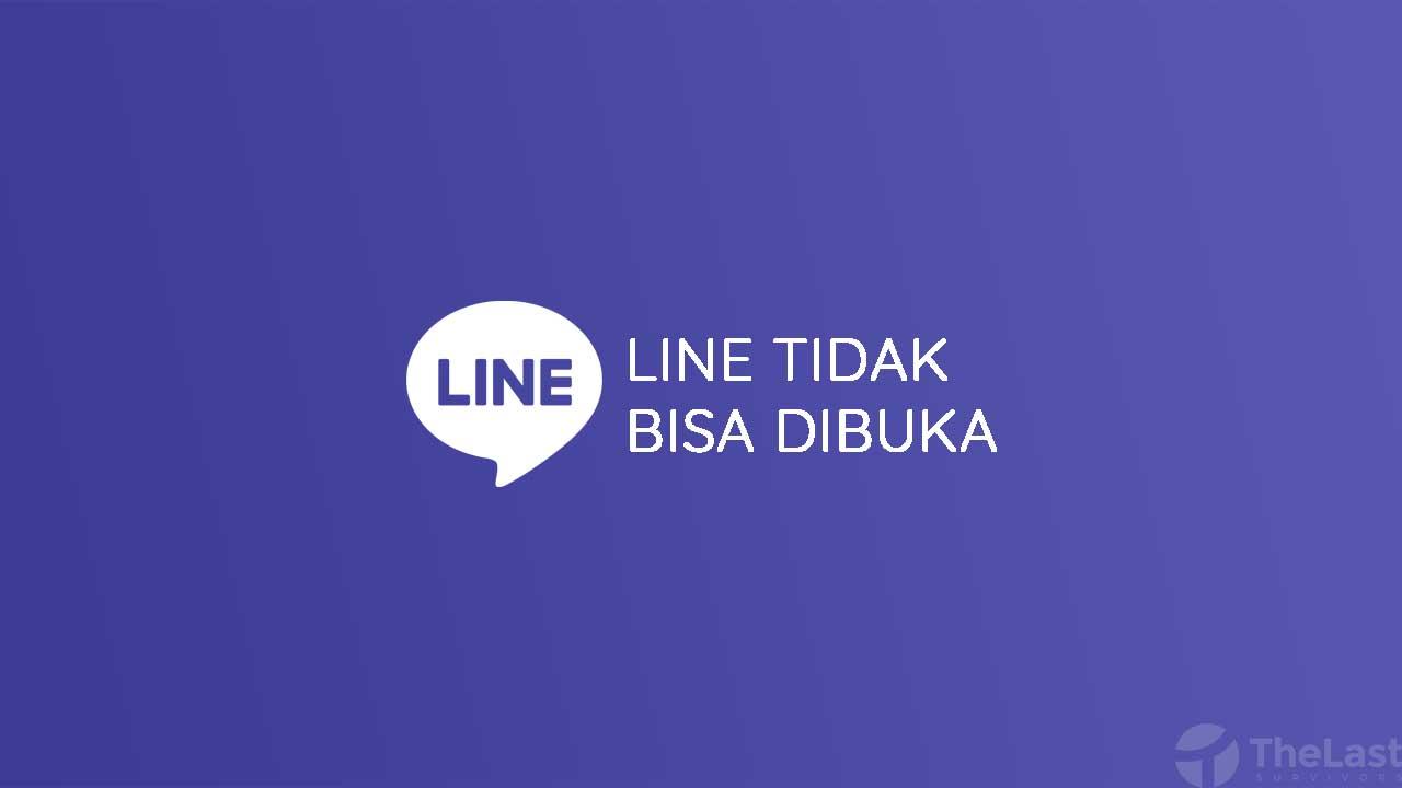 Cara Mengatasi Line Tidak Bisa Dibuka