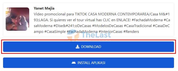 Klik Tombol Download