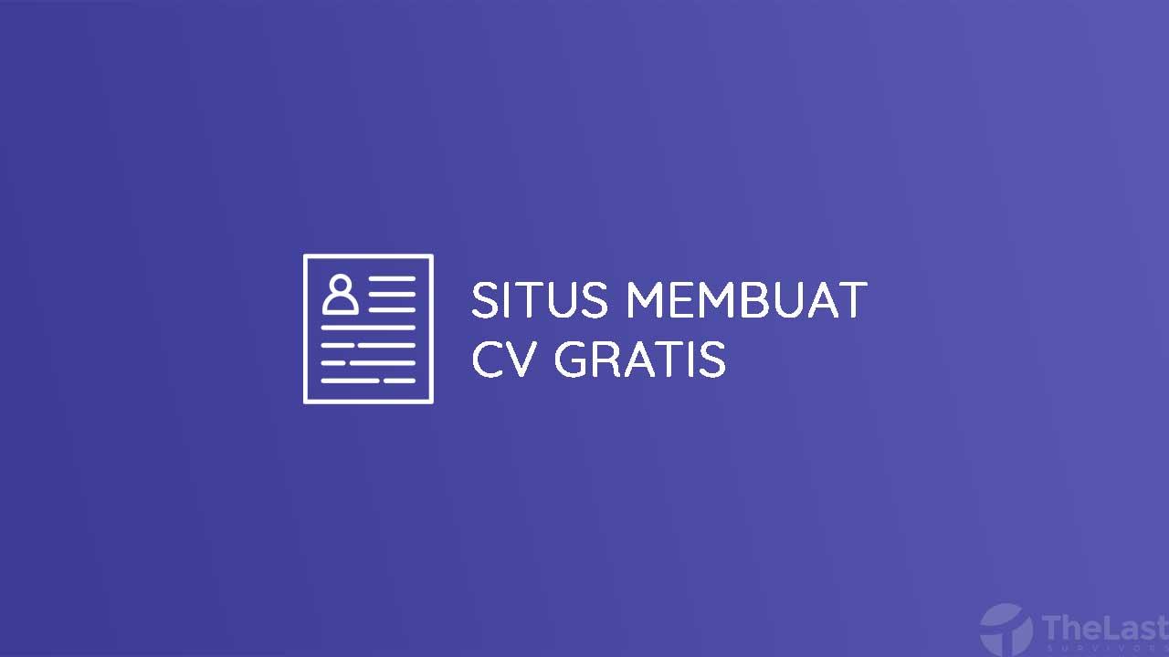 Situs Membuat CV Gratis