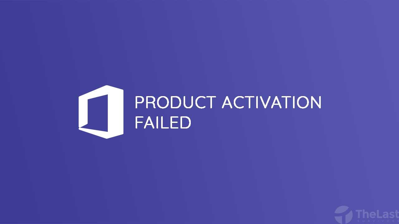 Cara Mengatasi Product Activation Failed