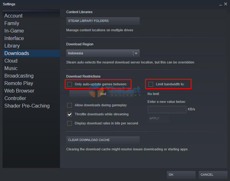 Download Restrictions Steam